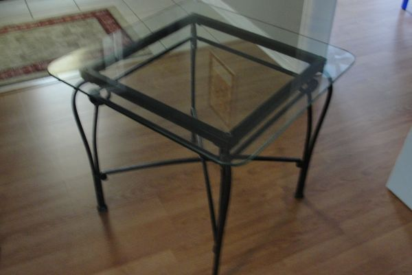 Pier One Table   2 end Tables - $185 (Covington)