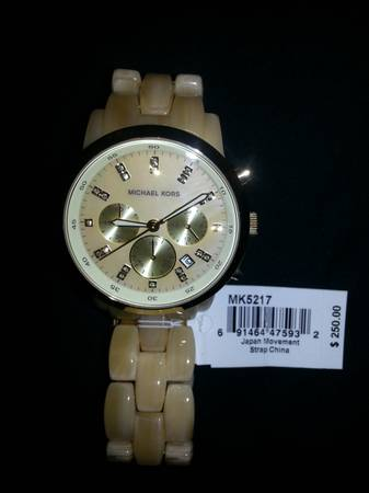 Michael Kors Woman s Watch -   x0024 200  River Ridge
