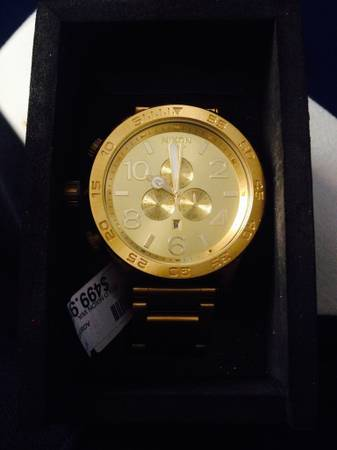 All GOLD Nixon 51-30 -   x0024 400  New Orleans east