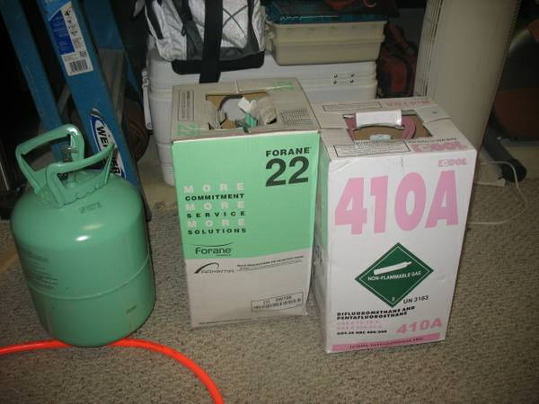R22 Freon and 410A Sealed - $800 (Hammond)