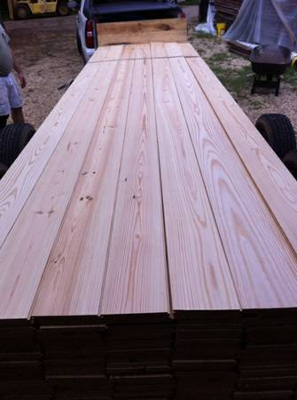 New heart pine hardwood flooring $2.50 sf - $2 (Folsom)