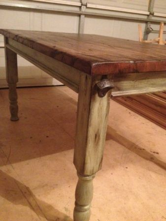 Reclaimed Table or Island from Rail Car Butcher Block - $77 (New Orleans)