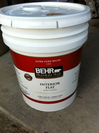 5 Gallon Behr Ceiling Paint - $80 (Old Metairie)