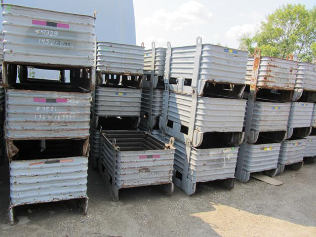 Used and New Steel Baskets and Bins