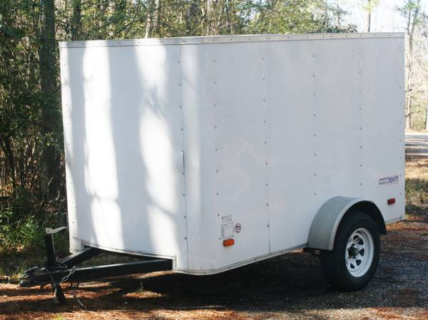 2011 Pace American 5x8 Enclosed Trailer -   x0024 1850  Covington