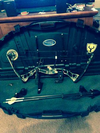 Browning micro adrenaline bow with hard case - $350 (slidell la)