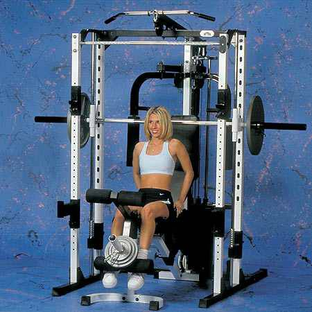 Yukon Self Spotting Smith Machine with 300 Lb Olympic Weight Set - $1200 (Mandeville)
