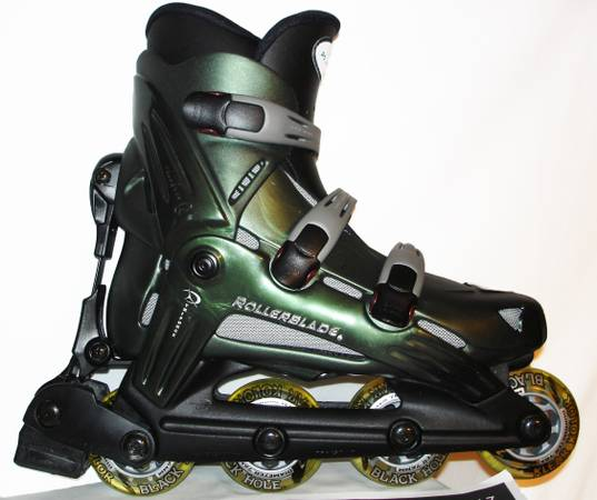 RollerBlades HWY 7 Inline Skates Italy Womens Like New Only worn Once - $75 (Luling, LA)