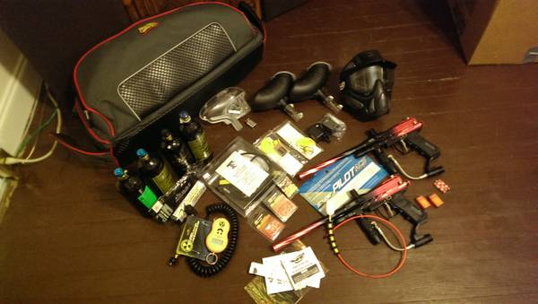 Only Used Once Complete Paintball Gun and Gear Set. Spyder Guns - $425 (Belle ChasseGretna)
