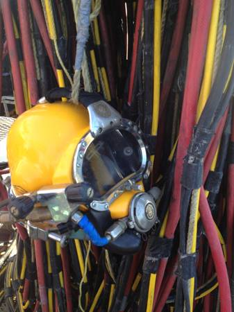 Kirby Morgan 27 Commercial Dive Gear - $5400 (New Orleans)