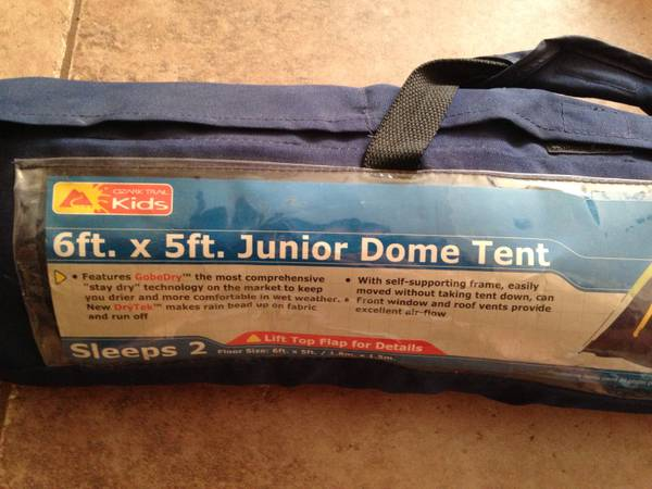 Junior Cing Dome Tent for sale - New - x002415 (slidell)
