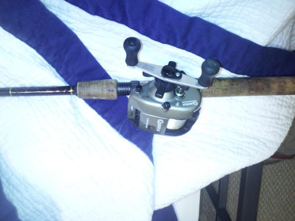 Baitcaster Quantum EX-500 USA Tour Edition Fishing rod  reel - $35 (New Orleans)