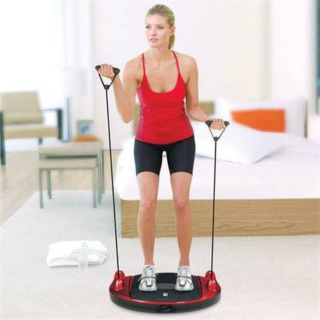Brookstone BodyForm Total Body Fitness Platform workout machine - $50 (lakeview)