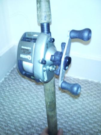 Quantum EX-500 and Tour Edition Rod NICE Baitcaster Rod  Reel Fishing - $1 (New Orleans)