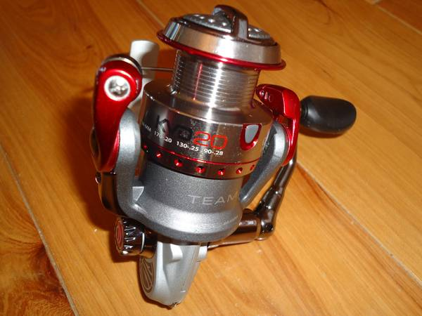 Quantum Team KVD Open Face Spinning Reel - $60 (Slidell)