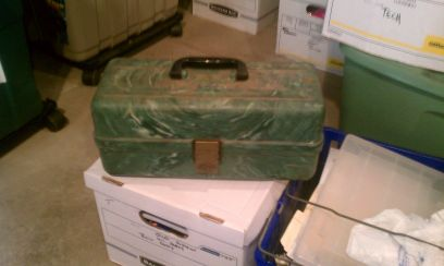 Vintage Plano tackle box - $20 (metairie)