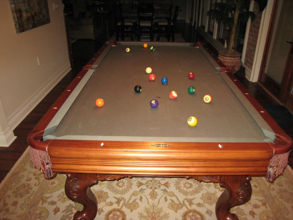 Brunswick Providence Chestnut 8ft Pool Table - $3500 (Lakeview - NOLA)