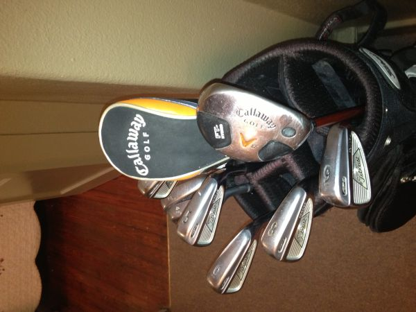 Titleist and Callaway golf clubs and bags - $600 (New Orleans)