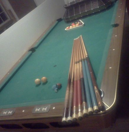 ALLTECH POOL TABLE- SLATE TOP- best offer or trade  - $750 (Slidell LA)
