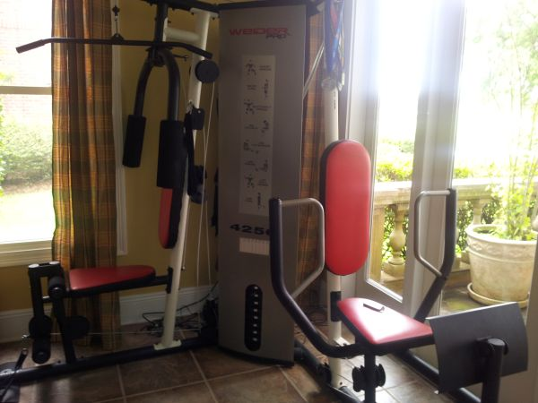 2 station home gym Weider Pro 4250 - $150 (Algiers)