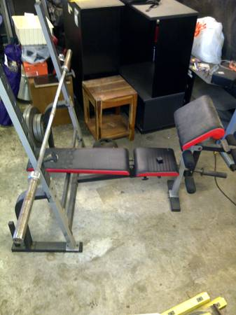 Golds Gym Equip - $150 (Laplace)