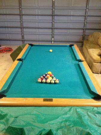 Used AMF Playmaster 7 Slate Pool Billiards Table - Needs to go in May - $750 (Jefferson Parish)