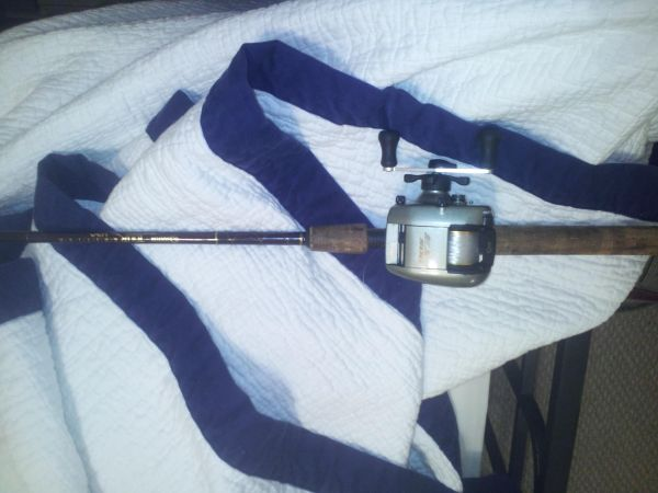 Quantum USA Tour Edition EX-500 Baitcaster Rod and Reel FISHING - $35 (New Orleans)