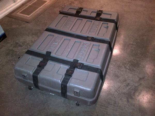 Trico Iron Bike Bicycle Case - $130 (New Orleans)