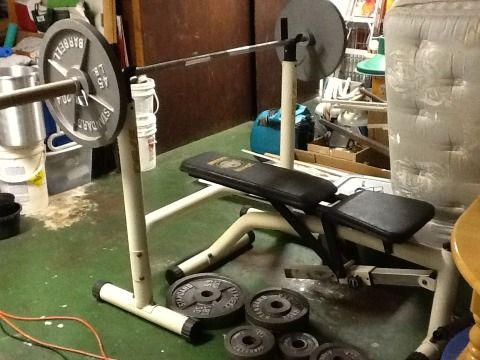 University Equipment Olympic Weight Bench - $200 (Metairie)