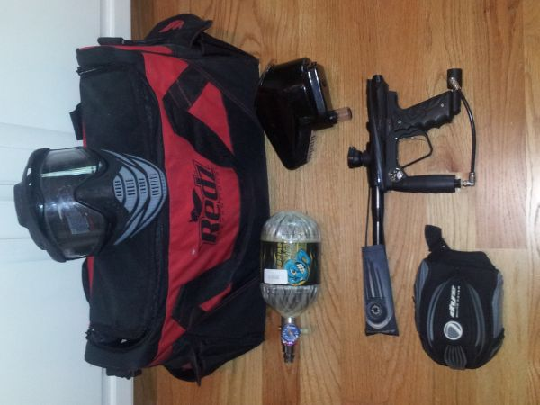 smart parts ion xe paintball gun - $300 (mandeville la)