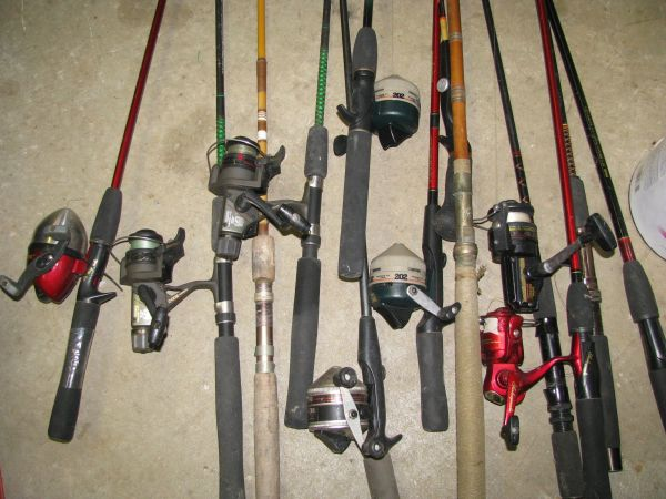 FISHING RODS REELS UGLY STIK SHIMANO BAMBOO - $10 (PICAYUNE SLIDELL)