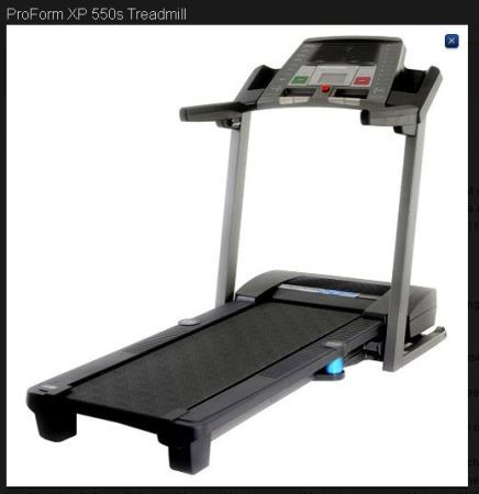 Treadmill - ProForm XP 550s - Great working condition $250. - $250 (70001)