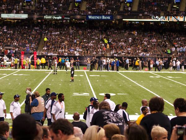 3 Dallas Cowboys VS New Orleans Saints Tickets LL Sec 112 Row 10 - $500 (112)