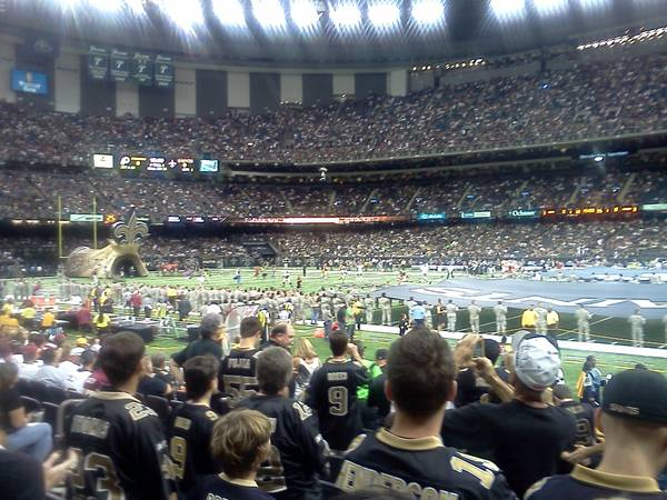 Saints Tickets (Multiple Games Available) - $1 (Lower Level, Section 111)