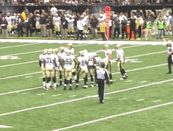 2 New Orleans Saints Vs. Dallas Cowboys Tickets Plaza Level - $500