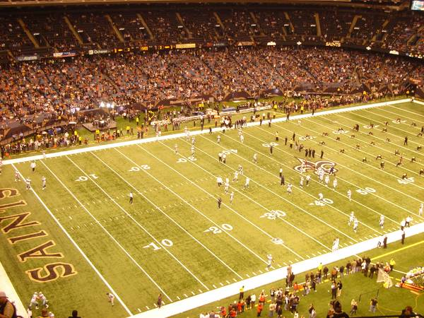 2 New Orleans Saints vs Carolina Panthers tickets - possible ownership - $175 (Mercedes-Benz Superdome)