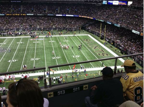 Two Saints Dolphins Tickets - $260 (25 yard line)
