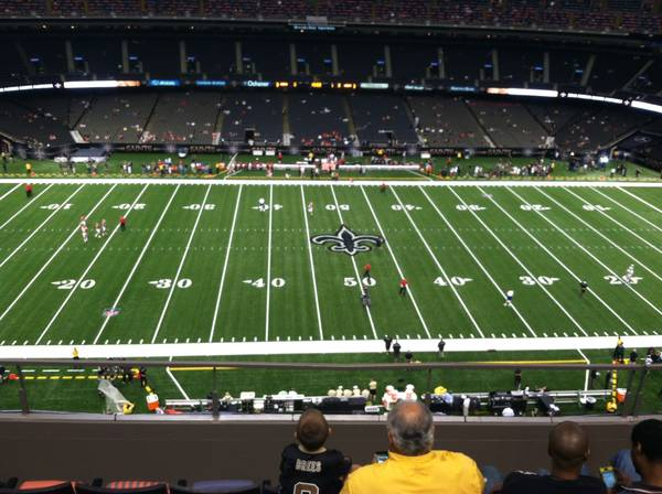 2 SAINTS VS DOLPHINS TICKETS AND PARKING PASS-MONDAY NIGHT FOOTBALL - $1 (METAIRIE)