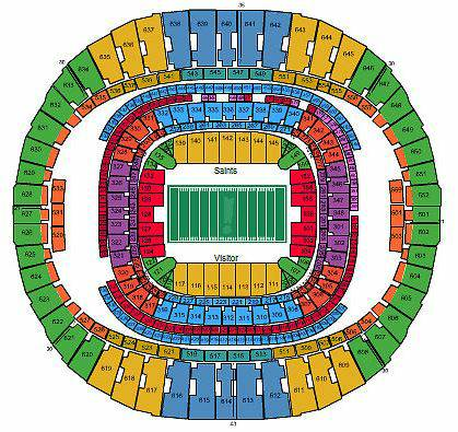 2 TICKETS NEW ORLEANS SAINTS VS DALLAS COWBOYS 111013 - $650 (SECTION 111)