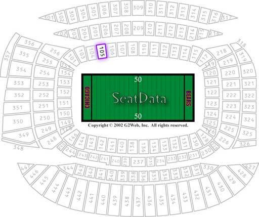 Single ticket for this Sundays game in Chicago - $1 (Who dat)