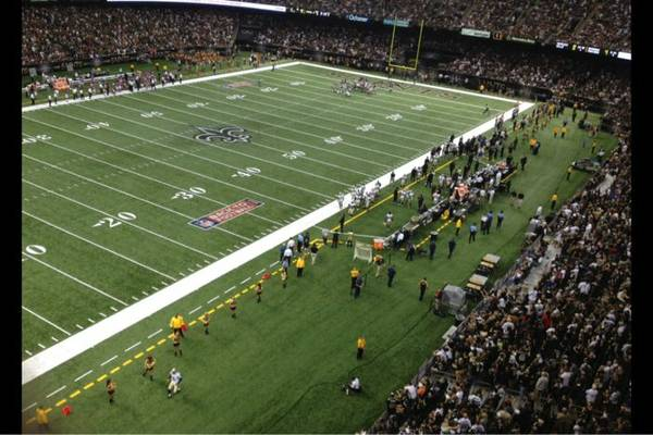 Saints panthers tickets 2013 espotted for Mercedes benz superdome parking pass