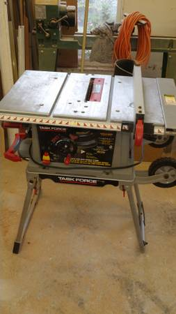 10 portable table saw - Task Force - $65 (uptown new orleans)