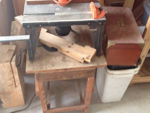 Sears Craftsman router and router table - x002455 (Metairie)