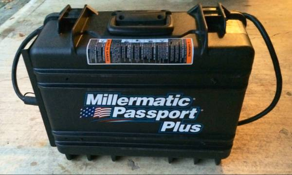 Miller Passport Plus Suitcase MIG Welder (LIKE NEW) - $1650 (Gonzales)
