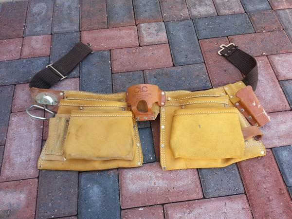 Leather tool belt - $15 (Metairie)