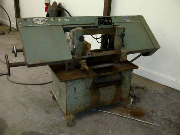 JET Horizontal Metal Cutting Bandsaw Industrial Quality 2hp3phs - $950 (Earhart Blvd.)