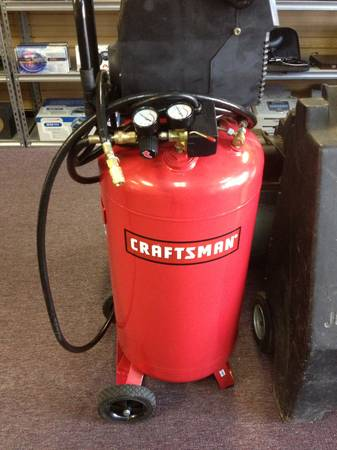 Craftsman 26 Gallon Air Compressor - $220 (harvey 70058)
