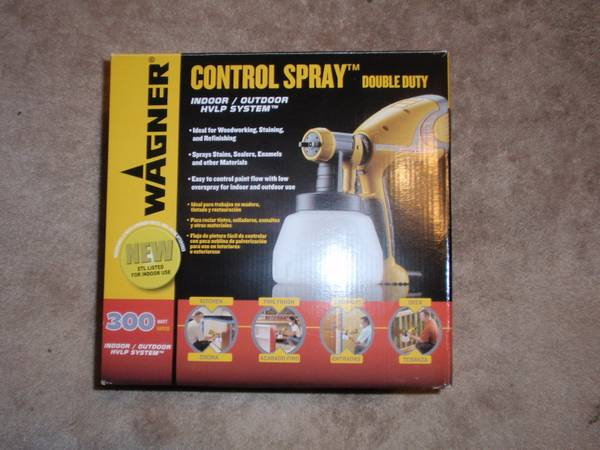 Wagner Double duty IndoorOutdoor paint sprayer - $75 (Slidell)