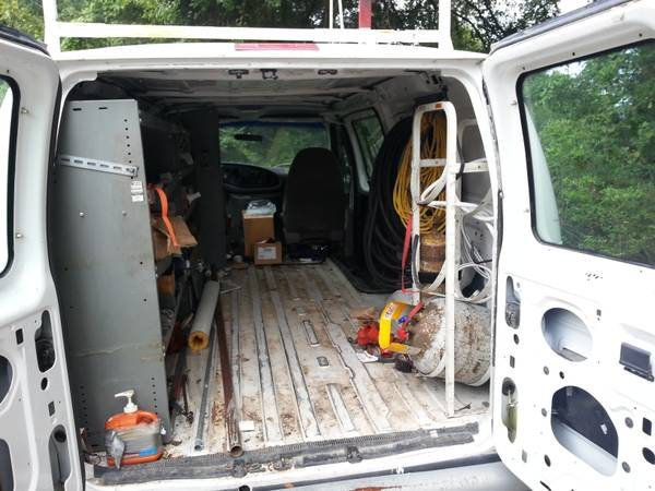 VAN SET UP FOR SERVICE - $2000 (Covington)