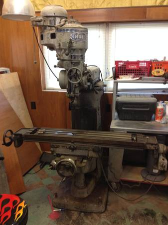 Wells Index Milling Machine - $2500 (Waggaman)